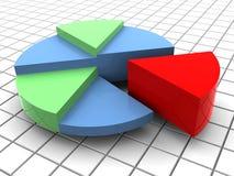 Grafiek stock illustratie