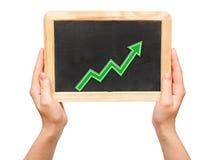 Grafiek van de groei Royalty-vrije Stock Foto's