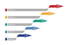 Grafiek van ontwikkeling Royalty-vrije Stock Fotografie