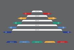 Grafiek van ontwikkeling Stock Afbeelding
