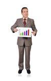 Grafiek van winsten royalty-vrije stock afbeeldingen