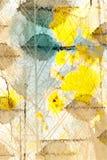 Grafiekbladeren Royalty-vrije Stock Afbeelding