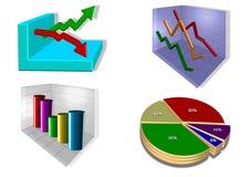 Grafieken Stock Afbeeldingen