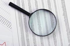 Grafieken en grafieken van verkoop stock fotografie