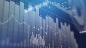Grafieken, gegevens en grafieken stock illustratie