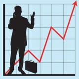 Grafieken voor bedrijfsgebruik vector illustratie