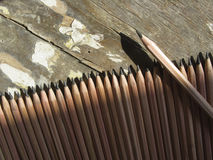 Grafiet potloden Stock Foto