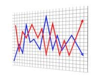Grafik übertragen Stockfoto