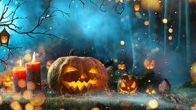 Grafik-Animations-Hintergrund Halloweens V2 lizenzfreie abbildung