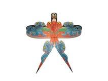 Grafik auf chinesischem traditionellem Drachen Stockbild