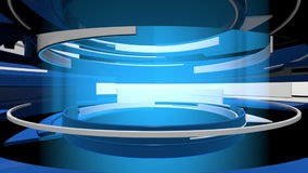 Grafik der Bewegungs-3D kurvt abstrakte Animation vektor abbildung