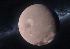 Grafik des Makemake-Zwergplaneten im Kuiper-Gürtel Lizenzfreies Stockfoto