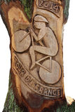 Grafik für Tour de France Harrogate 2014 Lizenzfreie Stockfotos