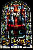 Grafika abstrakt z kolorowym szkłem obrazy stock