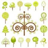 grafika drzewa wektor royalty ilustracja