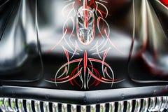 Grafika na kapiszonie rocznika Buick samochód Obraz Stock