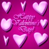 Grafikdesign-Liebe oder Valentinstag bezogen vektor abbildung