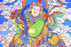 grafiki chiński obrazu wojownik Obraz Stock