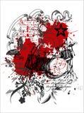 grafiki druku koszula t Obraz Stock
