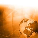 grafiki Europe mapy stylu technologia Zdjęcia Stock