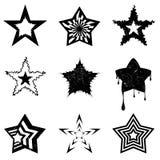 grafiki gwiazda royalty ilustracja