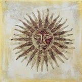grafiki słońce Fotografia Royalty Free