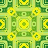 grafiki zieleni wzór Obraz Royalty Free