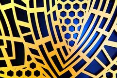 Grafisch abstract ontwerp Royalty-vrije Stock Fotografie