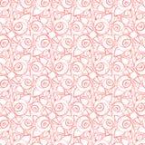 Grafisch bloemenpatroon voor de vakantie Royalty-vrije Stock Afbeeldingen