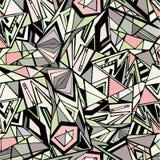 Grafisch driehoekspatroon Stock Afbeeldingen