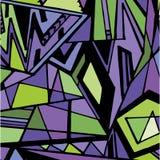 Grafisch driehoekspatroon Stock Foto
