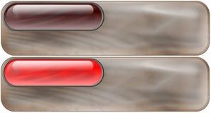 Grafisch element - Sepia Rollov stock illustratie