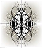 Grafisch grungeontwerp Royalty-vrije Stock Foto's