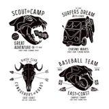 Grafisch ontwerp voor t-shirt Stock Fotografie