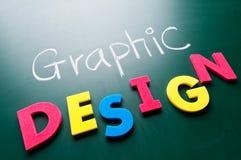 Grafisch ontwerpconcept Royalty-vrije Stock Fotografie