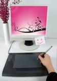 Grafisch ontwerperberoep Royalty-vrije Stock Fotografie