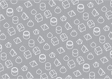 Grafisch Patroon Als achtergrond stock afbeelding