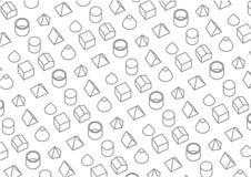 Grafisch Patroon Als achtergrond Stock Foto's