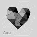 Grafisch vectorhart Stock Fotografie