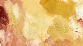 Grafische abstracte gele achtergrond Stock Afbeelding