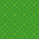 Grafische abstrakte Designtapeten-Grünblume Lizenzfreie Stockbilder