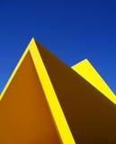 Grafische Abstraktion der Skulptur Stockbild