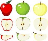 Grafische Apple-Vielzahl Stockfotografie
