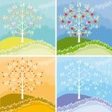 Grafische Appletree Royalty-vrije Stock Foto
