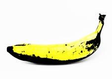 Grafische banaan Royalty-vrije Stock Foto's