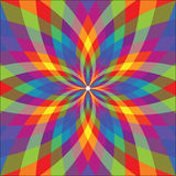 Grafische bloem vector illustratie