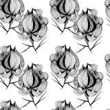 Grafische Bloemen stock illustratie