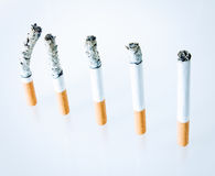 Grafische Cigarrettes royalty-vrije stock afbeeldingen
