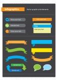 Grafische Elemente Lizenzfreie Stockfotos