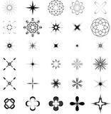 Grafische elementen Stock Foto
